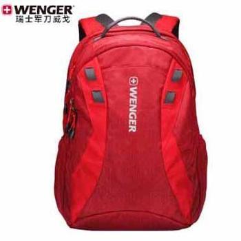 正品瑞士军刀威戈WENGER男女休闲16英寸电脑包双肩包背包旅行包书包 颜色随机发 SAB52816100047