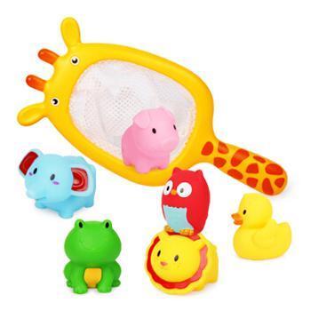 贝恩施 729 洗澡玩具长颈鹿