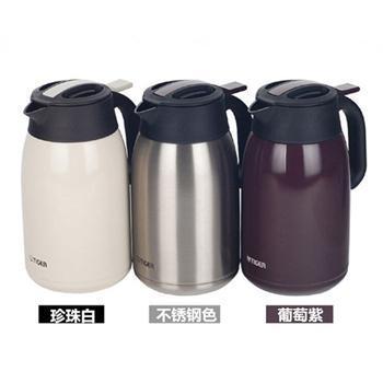虎牌 PWM-A20C 不锈钢真空保温保冷热水壶 2000ml (颜色随机发货)