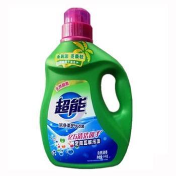 超能洁净柔护洗衣液 1kg 6910019017781