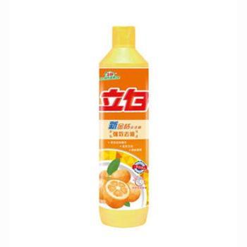 立白 新金桔 洗洁精 强效去油 500克/瓶 3瓶售