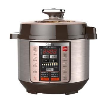 美的 微压烹饪预约超大控制面板电压力锅 白色 PCS5036P 5L 900W