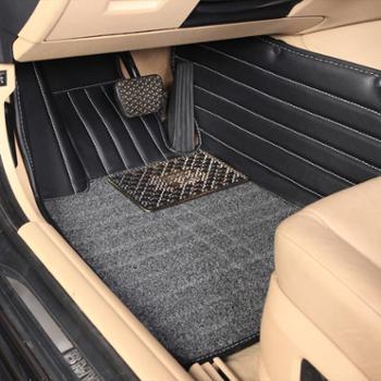 车之秀品专车专用定制汽车脚垫 草坪圈丝一体脚垫 全包围汽车脚垫
