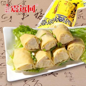 震远同52g真空鲜肉千张包子开袋即食浙江湖州特产休闲食品10包/件