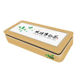 城楼寨有机白茶250G礼品茶叶铁盒装
