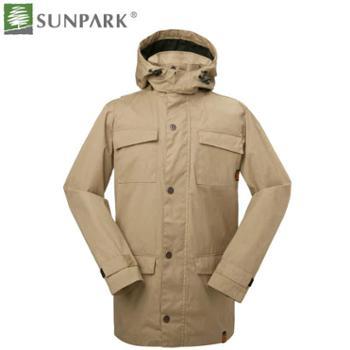 SUNPARK森泊客2014春夏新款男士全棉帆布夹克1007正品