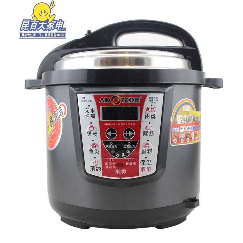 亚蒙 电压力锅 d6k 不锈钢 特惠商品
