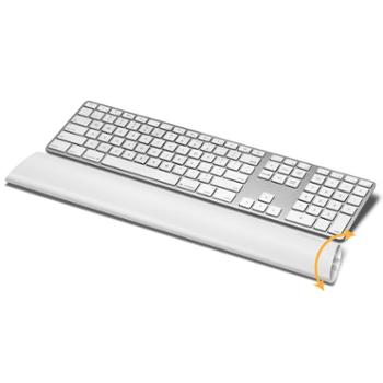 美国fellowes范罗士 键盘腕垫腕托 人体工学电脑键盘护腕 橡胶手枕