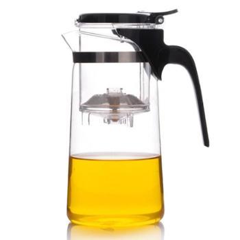 尚明泡茶杯耐热玻璃飘逸杯茶壶大容量750mlTF5088