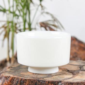 陶立方品茗杯劲玉瓷茶杯喝茶杯陶瓷茶杯白瓷杯功夫茶具配件礼盒包装TF-5713
