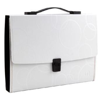 Shuter/树德型号特价树德U4017W时尚清新多层手提风琴包/文件包/文件袋A4