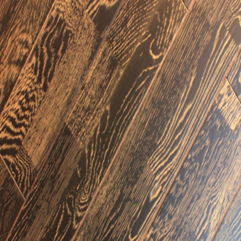 风格地板 实木地板 橡木(浮雕仿古)