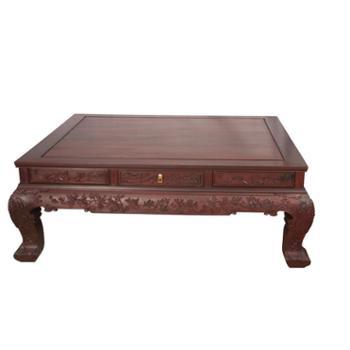 华之华家私明清古典红木家具老挝大红酸枝红木沙发纯实木精雕