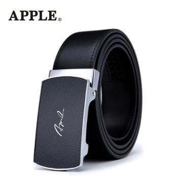 APPLE苹果正品男士皮带韩版休闲潮流牛皮青年腰带自动扣商务裤带