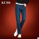 KUSS新品男士牛仔裤秋冬季韩版时尚修身男牛仔裤长裤子潮 包邮