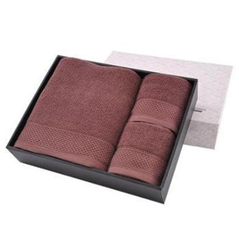 永亮纯棉三件套1方巾1毛巾1浴巾精品高档商务礼盒6535
