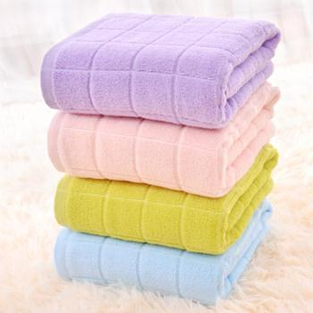 永亮毛巾精梳长绒棉素色纯棉大浴巾单条装5350