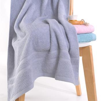 永亮纯棉素色缎档柔软吸水浴巾7350