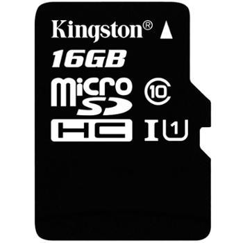 金士顿16GTF卡Class10高速内存卡microSD手机储存卡
