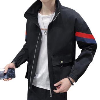 点就2019春秋季工装外套男潮韩版宽松帅气青少年学生男士夹克男装潮牌DJ-DS316