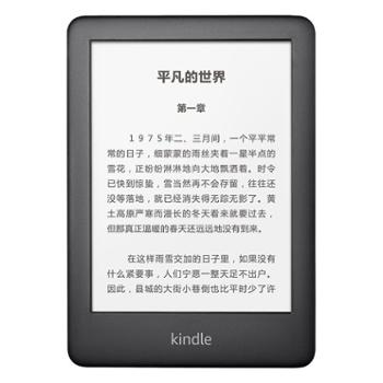 Kindle电子书阅读器电纸书青春版黑色8G