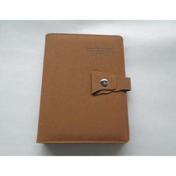 贝牛文具 树棕色 精致皮质笔记本 商务香槟 25k 纸张 广泽印刷 限随州