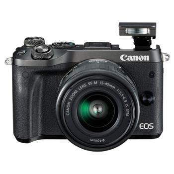 佳能(Canon)EOS M6(15-45)微型可换镜数码相机