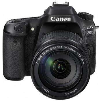 佳能(Canon)EOS 80D 单反套机(EF-S 18-200mm f/3.5-5.6 IS)