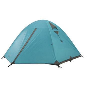 牧高笛 防风防暴雨露营三人铝杆双层帐篷 冷山3AIR MZ092005