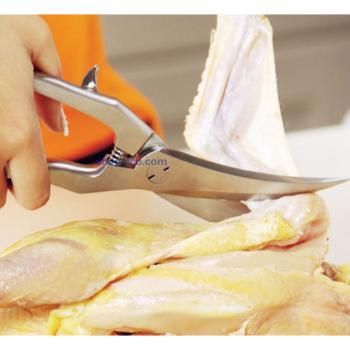 宏宝家居必备厨房刀具高品质不锈钢鸡肉剪HLK008-01
