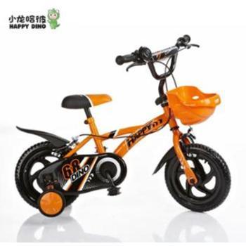 小龙哈彼儿童自行车12寸宝宝自行车