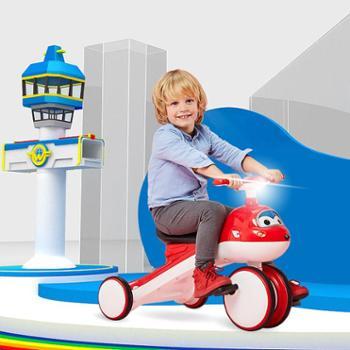 超级飞侠儿童三轮车宝宝脚踏车2-3-6岁轻便男女孩玩具车可坐童车