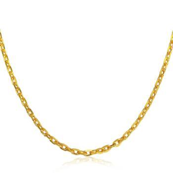 周生生 黄金(足金)万字项链 09251n 计价 40厘米 2.52克