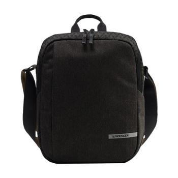 威戈WENGER琉森系列单肩包VAB53017171035炭晶黑
