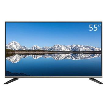 创维 55M7 55英寸14核4K超高清智能酷开网络液晶电视 黑色