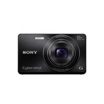 Sony 索尼 DSC-W690 数码相机 黑色(1610万 10倍光变 3英寸屏 25mm广角 索尼G镜头)