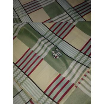 礼尚客牌单人纯棉方格床单 多种颜色单人床单