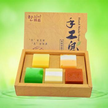 韩嘉手工皂礼盒装 五款组合