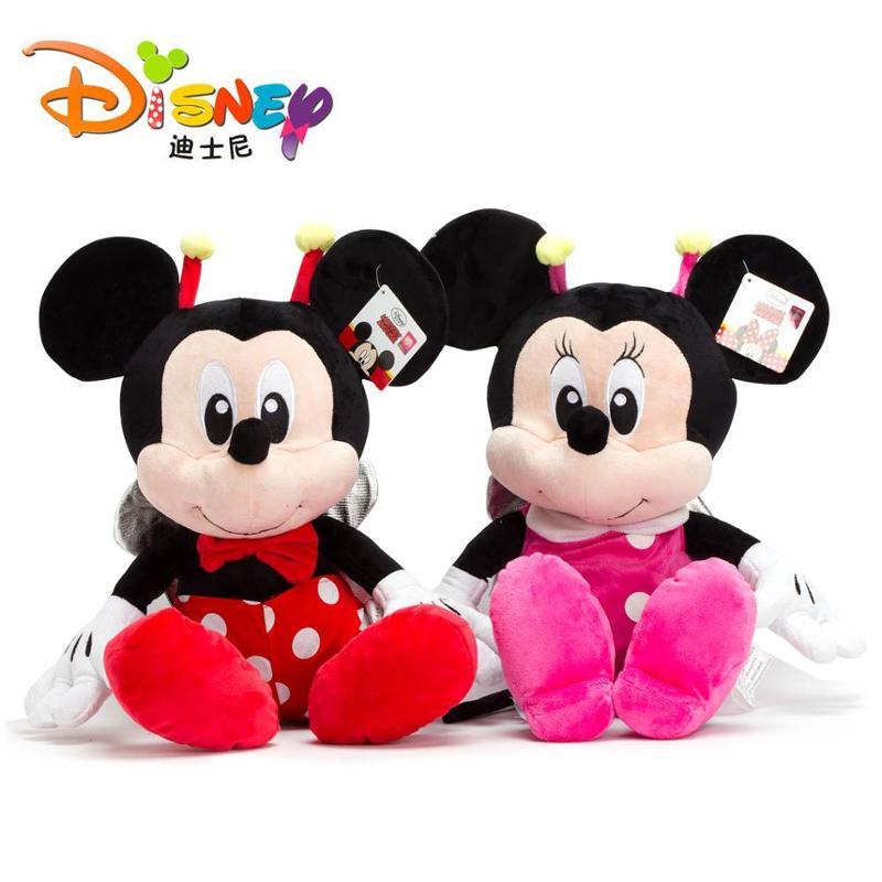 迪士尼1号小昆虫米奇创意毛绒玩具可爱公仔玩偶布娃娃创意生日礼物