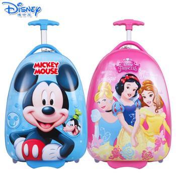 Disney/迪士尼儿童卡通蛋壳旅行箱儿童行李箱学生单向轮拉杆箱SM80510