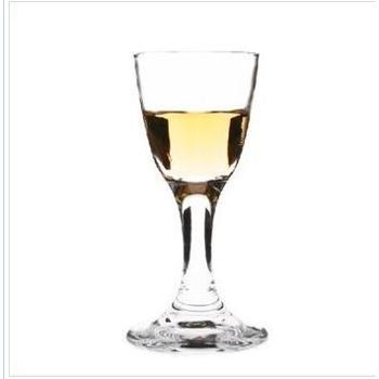 莹润 无铅玻璃杯 厚底高脚白酒杯 玻璃酒杯 茅台杯 18ml图片