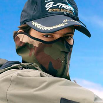 防风透气NKT户外运动面罩滑雪面罩骑行雾霾口罩