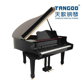天歌三角电钢琴TG-GP8000重锤黑色亮光钢琴烤漆纯正钢琴音色