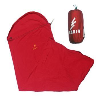 SANFO三夫保暖超轻便携抓绒睡袋Ⅱ型