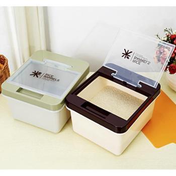 日式加厚米桶10KG 防虫防潮储米箱 米桶 收纳箱