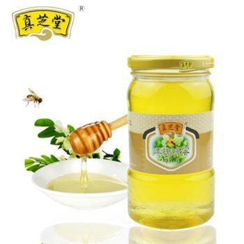 真芝堂 天然蜂蜜 优质蜜源 零添加 洋槐蜂蜜 500克