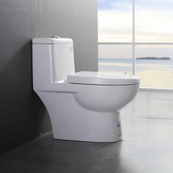JOMOO九牧卫浴喷射虹吸式坐便器节水静音防臭抽水马桶11170