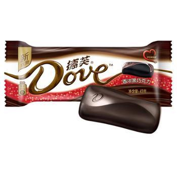 德芙黑巧克力43g