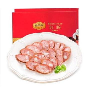 哈肉联红肠450g盒装