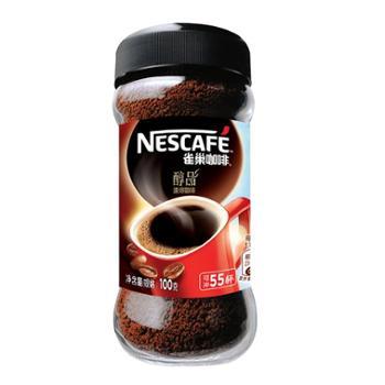 雀巢咖啡醇品100g/瓶
